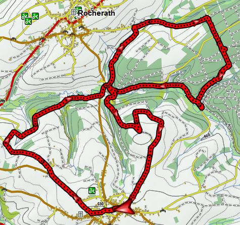Murringen GPX coordinaten route 12 km